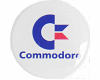 Gehäuseaufkleber Commodore rund