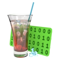 Eiswürfelform Binärcode