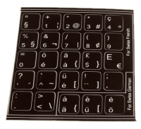 Amiga Keyboard set stickers A600