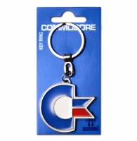 Commodore 64 metal keyring