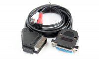 Amiga RGB cable (DB25 cut) to SCART