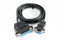 Null modem cable Amiga-PC
