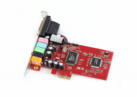 PCI-Express Soundcard CMI8738-LX