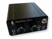 Channel mixing headphone amplifier