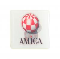 Gehäuseaufkleber Amiga + Boingball