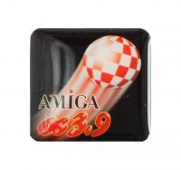 Gehäuseaufkleber AmigaOS 3.9 + Boing schwarz