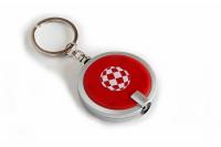 Boing Ball Schlüsselanhänger mit LED Licht