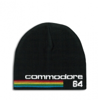 Commodore 64 Strickmütze