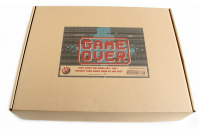 Dust cover Game Over made of hard plastic for Amiga 500