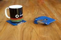 Floppy coasters