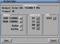 Wicher 608 Fast-Ram memory expansion for Amiga 600