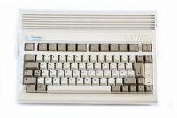 Transparent hard plastic dust cover for Amiga 600