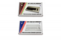 Transparent hard plastic dust cover for C64 I & II