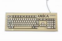 Transparente Staubschutzhaube aus Hartplastik für Amiga 2000 / 4000 Tastatur