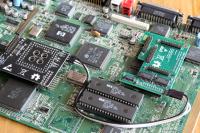 4 Wege Uhrenport Erweiterung für Amiga 1200